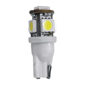 194 Bulb 5 LED Bright White 12V