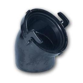 Buy Duraflex 24649 Adapter 45-deg Gren Style - Sanitation Online|RV Part