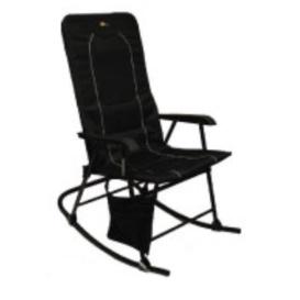 Buy Faulkner 49597 Dakota Folding Rocking Chair Black/Black - Camping and