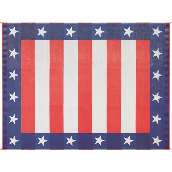 Patio Mat Independence Day 8X16