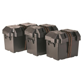 Buy Power House 13034 Battery Box Group 24 Black - Battery Boxes Online|RV