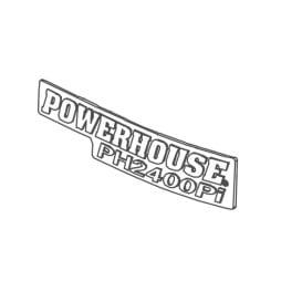 Buy Power House 68243 Badge Left Ph2400Pi - Generators Online|RV Part Shop