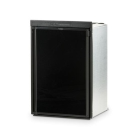 Buy Dometic RM2354LB1F Refrigerator 3 cu ft LH Door W-Way Black with Fan -