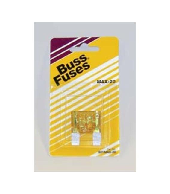Buy Cooper Bussmann BP/MAX-20-RP Fuse 20 Amp Maxi Blade - 12-Volt