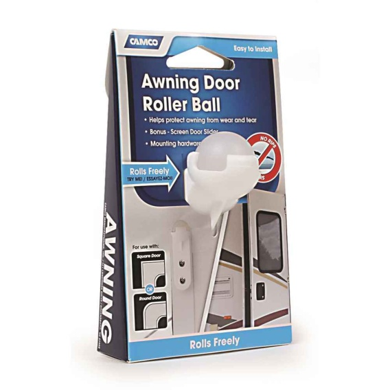 Buy Camco 42005 Awning Door Roller Ball - Awning Accessories Online|RV