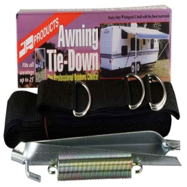Buy JR Products 09253 RV Awning Tie Down Strap Kit - Awning Accessories