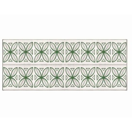 Buy Camco 42830 Green Botanical Awning Leisure Mat 8' X 20' - Camping and