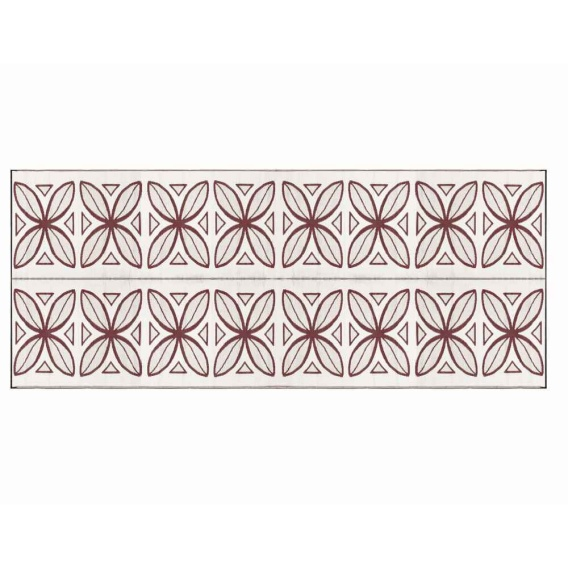 Buy Camco 42832 Large Reversible Outdoor Patio Mat 8' x 20' Burgundy