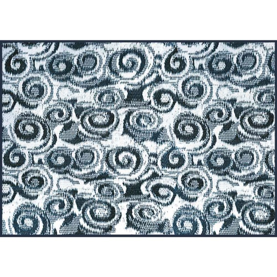 Buy Camco 42841 Blue Swirl Awning Leisure Mat 8' X 16' - Camping and