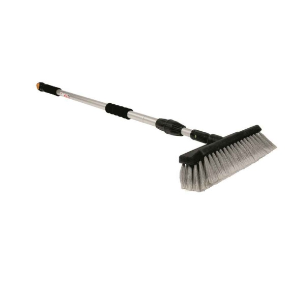 Buy Camco 43633 RV Flow-Through Wash Brush with Adjustable Handle and