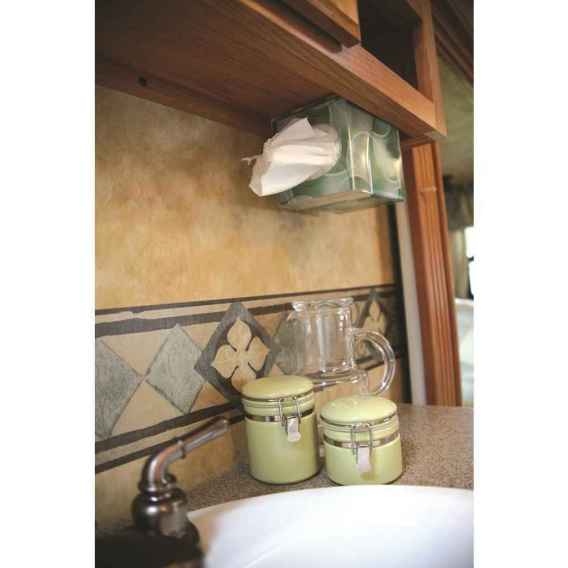Buy Camco 57101 Pop-A-Tissue- Tisssue Box Holder- Mounts to Walls and