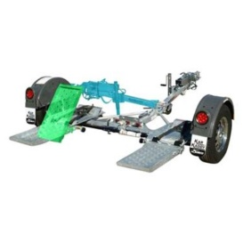 Buy Demco 9713045 Kar Kaddy Stainless Steel Tow Dolly (Unassembled) - Tow