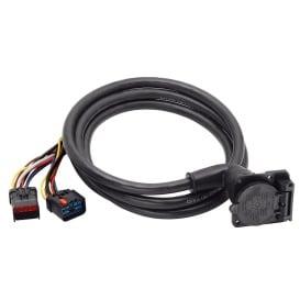 Buy Bargman 50-97-411 90-Deg Fifth Wheel Adapter Harness 9' - Fifth Wheel