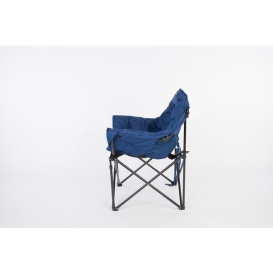 Buy Faulkner 49575 Big Dog Chair Blue/Black - Camping and Lifestyle