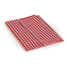 """Buy Camco 51019 Red/White 52"""" x 84"""" Table Cloth - Camping and Lifestyle"""