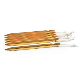 """Buy Camco 51089 9"""" Aluminum Ultralight Tent Stake, (Pack of 6) - Camping"""
