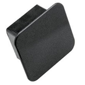 """Buy Tow Ready 1202 Receiver Tube Cover 2"""" Square Black - Receiver Covers"""