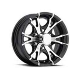 Buy Americana 22649BM 15X6 5H T07V-Trailer Wheel Spoke 5Black - Wheels and