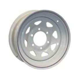 Buy Americana 20421 15X5 Trailer Wheel Spoke 5H-4.5 White N/Str - Wheels