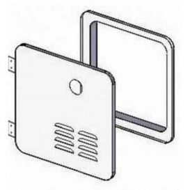 Buy Girard Products 2GWHD GSWH-2 Door Kit White - Water Heaters Online RV