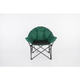 Buy Faulkner 52286 Big Dog Bucket Chair Green/Black - Camping and