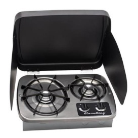 Buy YSN Imports YSNHT600 Gas Drop-In 2 Burner RV Cooktop Stove - Ranges