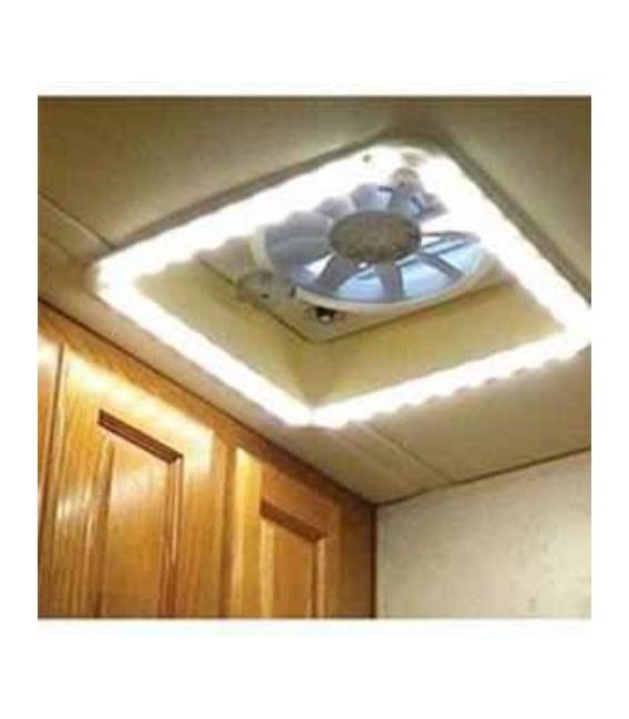 Buy Heng's HGLRWWWAFT LED Roof Vent Trim Lit Warm White White Diffuser -