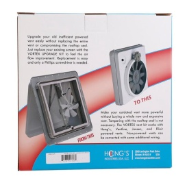 Buy By Heng's, Starting At Vortex Vent Fan Upgrade Kits - Exterior