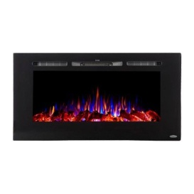"""Buy Patrick Industries 80025 40"""" FIREPLACE FLUSH/RECESS - Electrical and"""