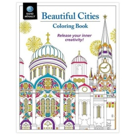 Buy Rand McNally 0528016016 BEAUTIFUL CITIES COLORING - Games Toys & Books