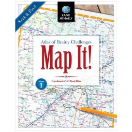 Buy Rand McNally 0528018248 RAND MCNALLY MAP IT] - Games Toys & Books