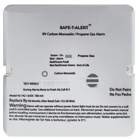 Buy By Safe-T-Alert, Starting At Safe T Alert Propane/CO Alarms Flush