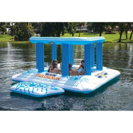 Buy WOW Watersports 20-2000 Parthernon Island Float - 8 Person -
