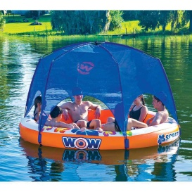 Buy WOW Watersports 21-2090 Screenhouse Island Lounger - 6 Person Float -