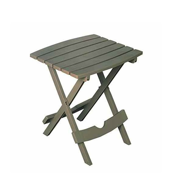 Buy Adams Mfg 8500603731 Quik-Fold Side Table Brown - Camping and