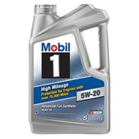 Buy Mobil 120768 MOBIL1 HI MILE 5W20 - Lubricants Online|RV Part Shop USA