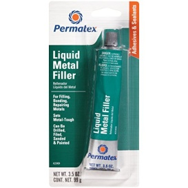 Buy Permatex/Loctite 25909 LIQUID STEEL FILLER - Glues and Adhesives