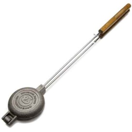 Buy Rome Industries 1805 Rome's Round Pie Iron with Steel and Wood Handles
