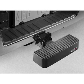 Buy Weathertech 8ABS2WHP1 Bumper Step With Hitch - RV Steps and Ladders