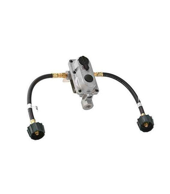 Buy YSN Imports KT12ACR6 2-Stage Auto Changeover Propane Gas Regulator