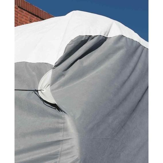 """Wind Tyvek Travel Trailer Cover 22'1""""-24'"""