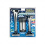 Wolo Air Max Chrome Horns   NT71-0033  - Exterior Accessories - RV Part Shop USA