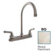 Dura Faucet J-Spout RV Kitchen Faucet Bisque Pa   NT10-3814  - Faucets - RV Part Shop USA