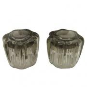 Dura Faucet Smoked Acrylic lic Knobs   NT10-9010  - Faucets - RV Part Shop USA