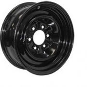 Americana 15X6 Trailer Wheel Conventional 6H-5.5 Black 3.65P   NT17-0331  - Wheels and Parts - RV Part Shop USA