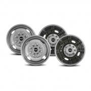 Pacific Dualies 2F & 2R Lug Wheel Skins 16.5   NT25-0883  - Wheels and Parts - RV Part Shop USA