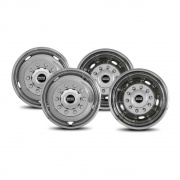 """Pacific Dualies 19\\"""" Ford Ten-Lug Cover 05-06   NT25-0888  - Wheels and Parts - RV Part Shop USA"""