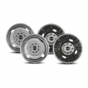 """Pacific Dualies 2F & 2R 16\\"""" Chev Up To 2000   NT25-1011  - Wheels and Parts - RV Part Shop USA"""