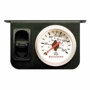 Firestone Ind Single Gage White Air Accessory   NT93-6096  - Handling and Suspension - RV Part Shop USA