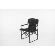 Faulkner Directors Chair Compact Black  NT03-2139  - Camping and Lifestyle - RV Part Shop USA